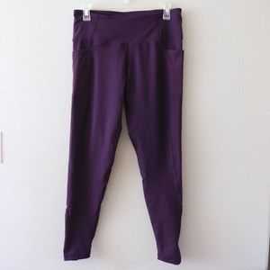 Zobha Purple Leggings with Pockets